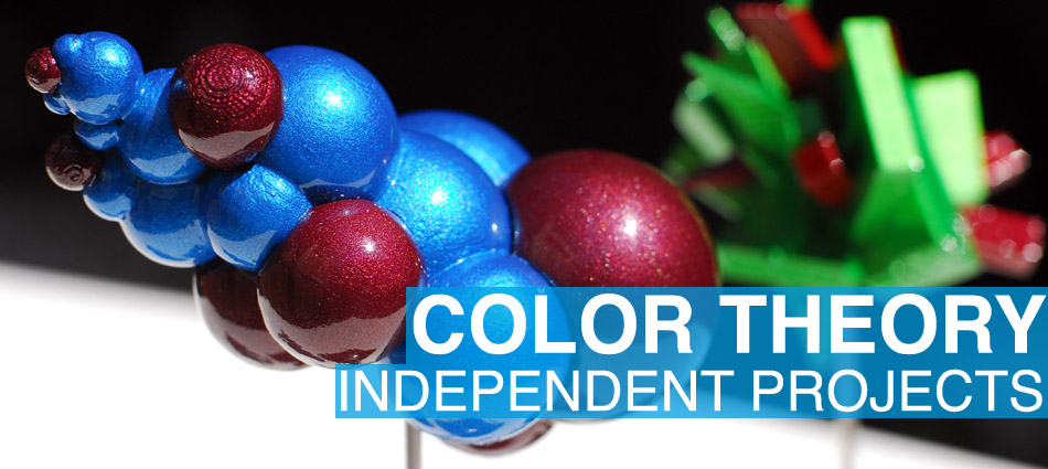 Color Theory – Independent Projects